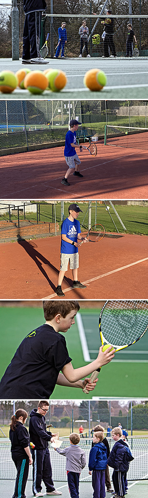 Sutton United Tennis clubs offers a wide choice of coaching sessions for Juniors form the age of 4 years and upwards